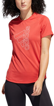 adidas Badge of Sport T-Shirt Damen rot