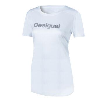 Desigual Essentials Trainingsshirt Damen weiß