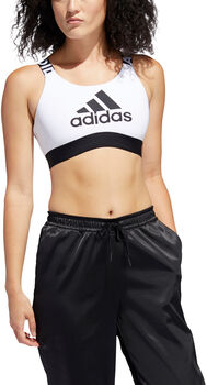 ADIDAS Don't Rest Branded Sport-BH Damen weiß