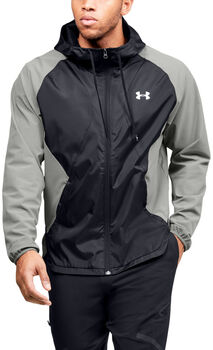 Under Armour Stretch Woven Trainingsjacke Herren grün