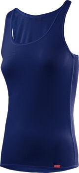 LÖFFLER Unterhemd Damen blau