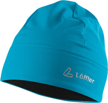 LÖFFLER Mono Mütze blau