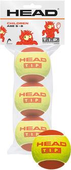 T.I.P. Red 3er Pack Tennisbälle