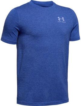 Under Armour Charged Cotton T-Shirt Jungen blau
