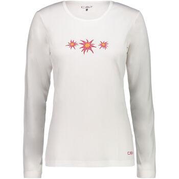 CMP Bergamo Langarmshirt Damen cremefarben