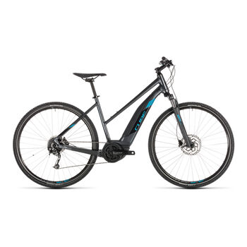 CUBE Cross Hybrid ONE 500 blau