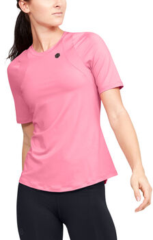 Under Armour Rush T-Shirt Damen pink