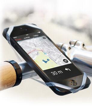 Cytec Silikon Smartphonetasche schwarz