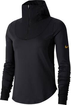 Nike Glam Hoodie Damen schwarz