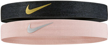 Nike Shine Headband 2PK schwarz