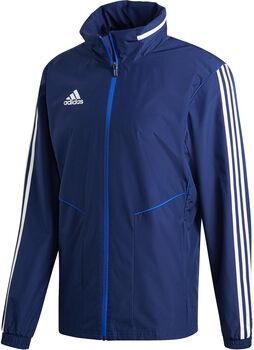 adidas Tiro 19 AW Kapuzenjacke Herren blau