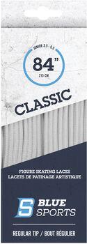 Blue Sports Schnürsenkel weiß