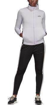 adidas Plain Tricot Trainingsanzug Damen lila
