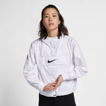 Nike Sportswear Essentials Trainingsjacke Damen weiß
