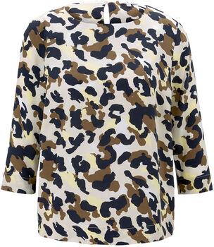 TOM TAILOR Easy Shape 3/4 Bluse Damen braun
