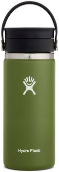 Hydro Flask 16 oz Wide Mouth Trinkflasche grün