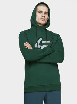 4F Hoodie Herren grün