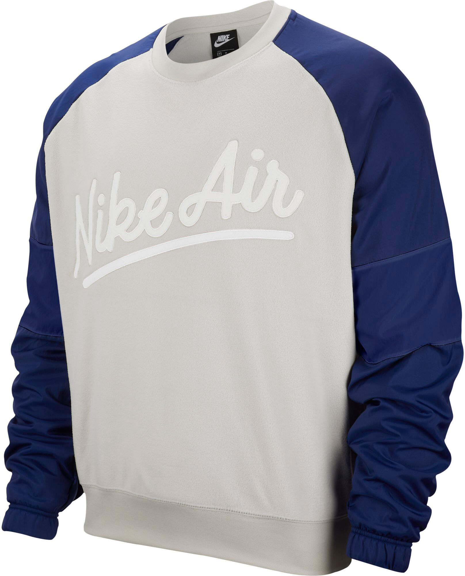 NIKE SPORTSWEAR Air Crew Sweatshirt für Herren Grau