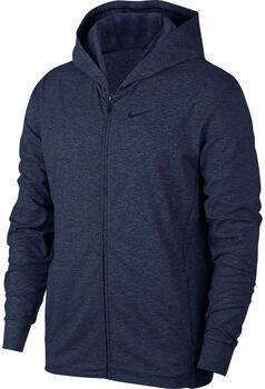 Nike Dri-FIT Kapuzenjacke Herren blau