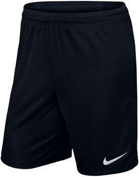 Nike Park II Knit Fußballshorts Herren schwarz
