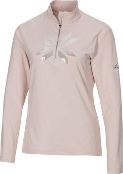 McKINLEY Daria II Langarmshirt mit Half Zip Damen pink