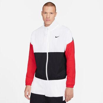 Nike Dri-FIT Trainingsjacke weiß