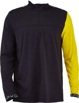 Spyder ORION Langarmshirt mit Halfzip Herren schwarz