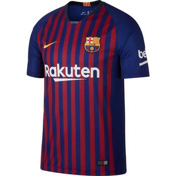 Nike 2018/19 FC Barcelona Stadium Home Fußballtrikot Herren blau