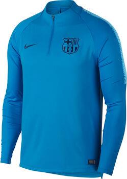 Nike FCB Squad Drill Fantrikot Herren blau