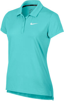 Nike Court Pure Poloshirt Damen blau