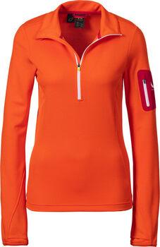 McKINLEY Tampo Fleece Langarmshirt mit Halfzip Damen orange