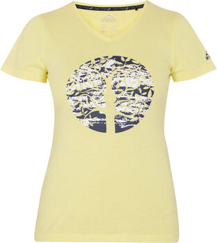 McKINLEY Mally T-Shirt Damen gelb
