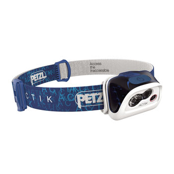 Petzl Actik Stirnlampe blau