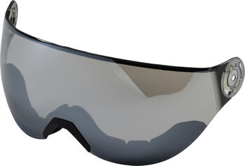 TECNOPRO Ersatzvisier für den Skihelm Pulse blau
