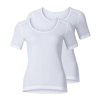 Odlo Cubic 2Pack T-Shirt Damen weiß