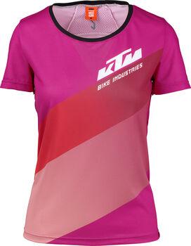 KTM  Character Lady Da. Rad-shirt,100% PES,Rückentasche Damen pink