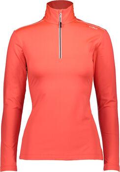 CMP Trentino Langarmshirt mit Halfzip Damen orange