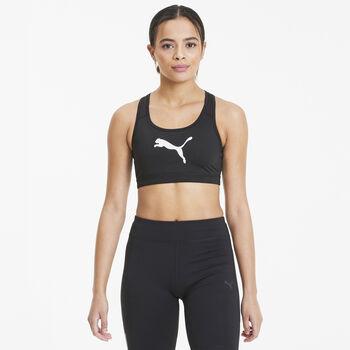 Puma 4 Keeps Sport-BH Damen schwarz
