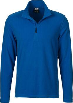 McKINLEY Cortina II Langarmshirt mit Halfzip Herren blau