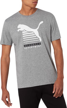 Puma Graphic T-Shirt Herren grau