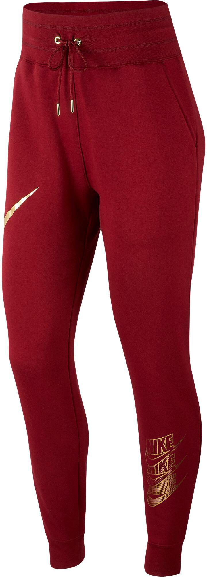 Nike W NSW Pant Velour schwarz
