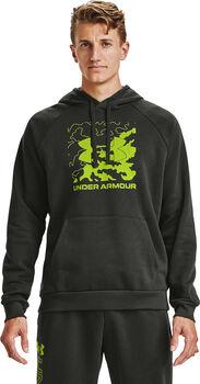 Under Armour Rival Fleece Hoodie Herren grün