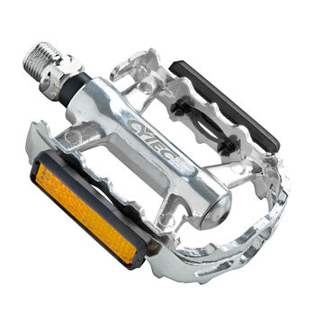 Cytec Alu MTB-Pedale mit CroMo Achse schwarz