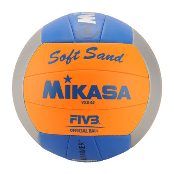 Mikasa Soft Sand Beachvolleyball orange