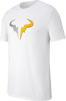 Nike Rafa ct Dry Tennisshirt Herren weiß