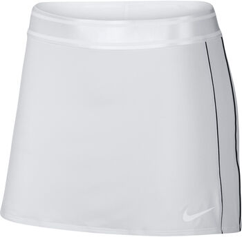 Nike Court Dri-Fit Tennisrock Damen weiß