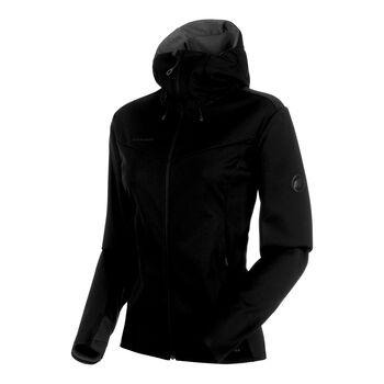 MAMMUT Ultimate V Softshell Jacke Damen schwarz