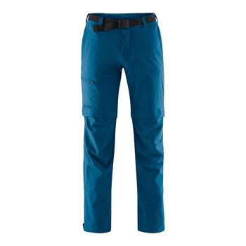 Maier Sports Tajo Zipp-Off Wanderhose kurzgestellt Herren blau