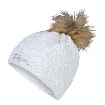 Eisbär Jorita Lux Mütze Damen weiß