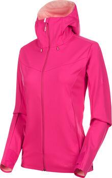 MAMMUT Ultimate V Softshell Jacke Damen pink